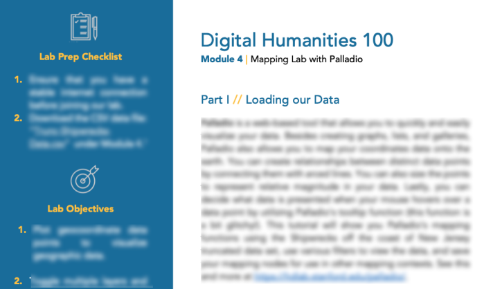 DH101 Online: Introduction to Digital Humanities on Canvas